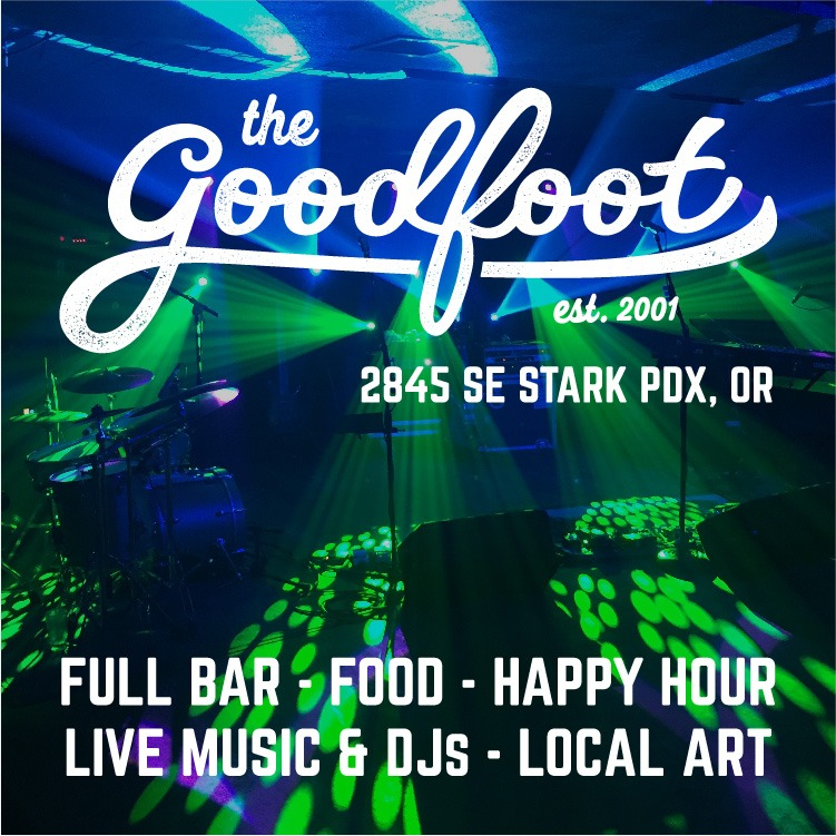 The Goodfoot | live music, DJs, art, food, full bar