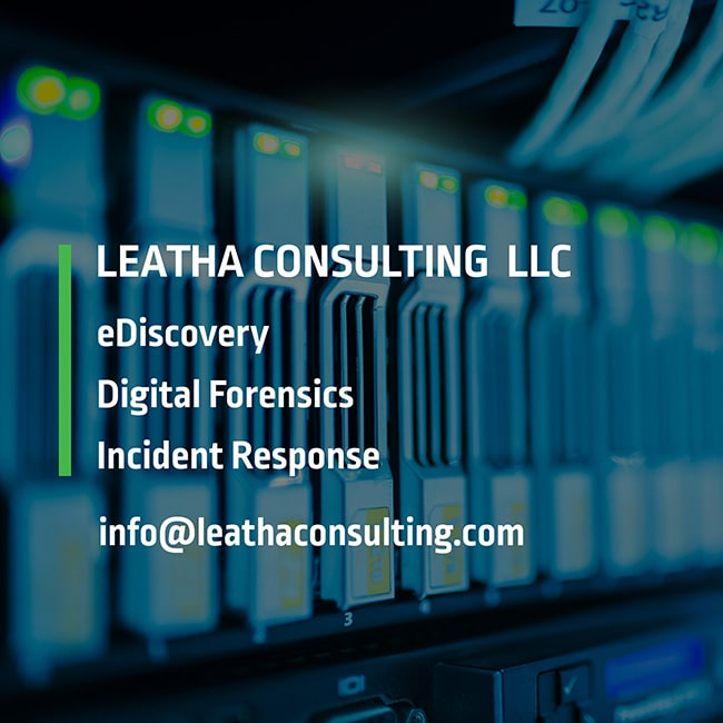 Leatha Consulting LLC | eDiscovery & digital forensics