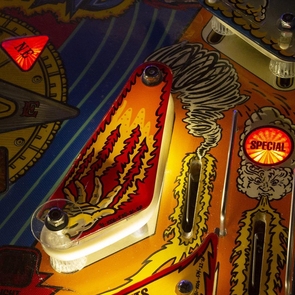 Whirlwind pinball machine at Wedgehead PDX