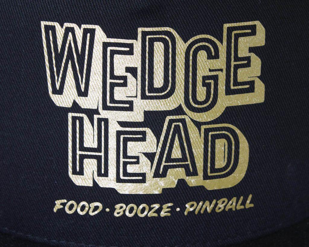 Wedgehead cap detail