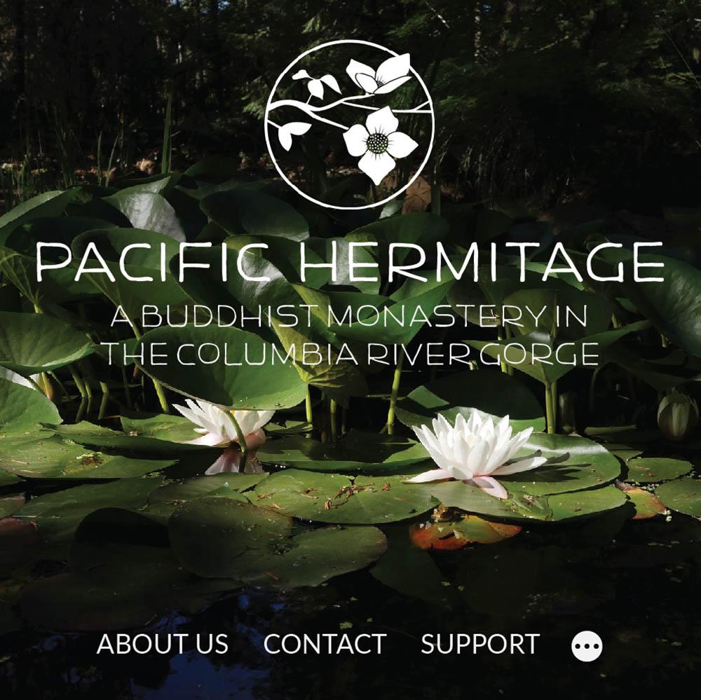 Pacific Hermitage portfolio card