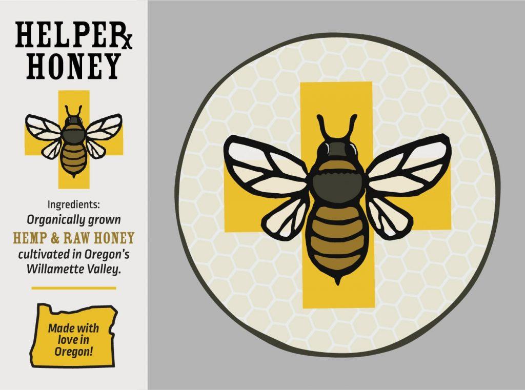 Helper Honey graphics example
